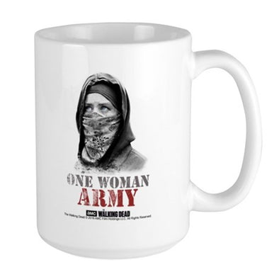 One Woman Army Large Mug