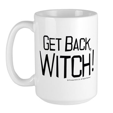 Get Back Witch Large Mug