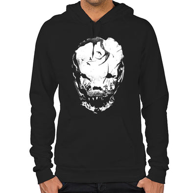 Bloodletting Mask White Hoodie