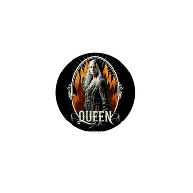 Queen Carol Mini Button