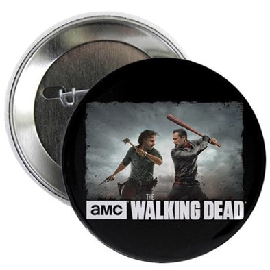 Rick & Negan Face Off Button