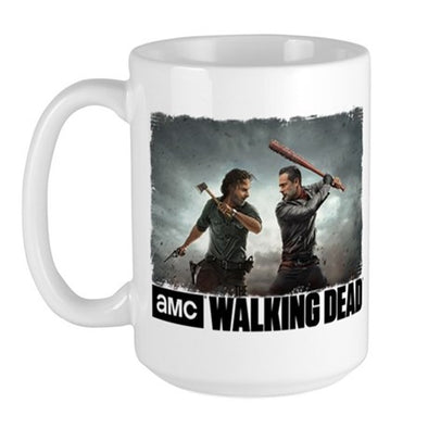 Rick & Negan Face Off Large Mug