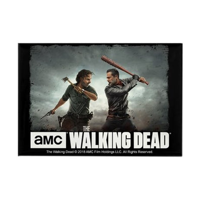 Rick & Negan Face Off Magnet
