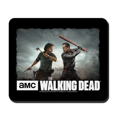 Rick and Negan Face Off Mousepad