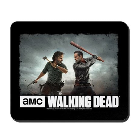 Rick & Negan Face Off Mousepad