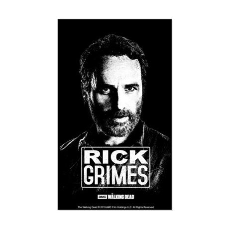 Rick Grimes Lives Sticker