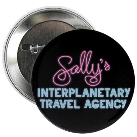 Sally's Travel Agency Button