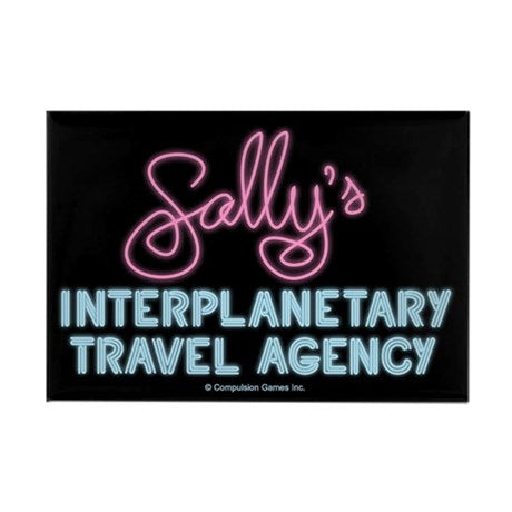 Sally's Travel Agency Magnet