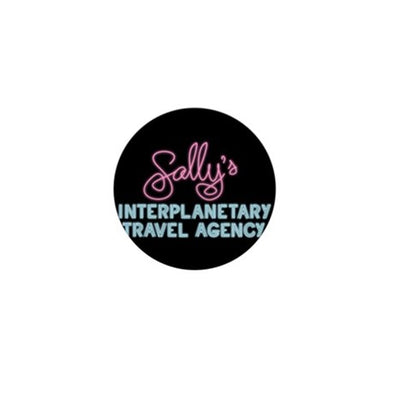 Sally's Travel Agency Mini Button
