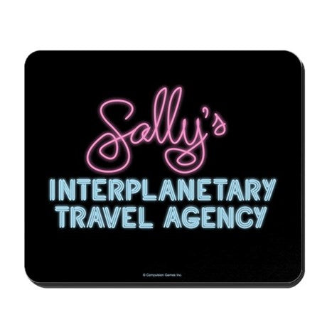 Sally's Travel Agency Mousepad