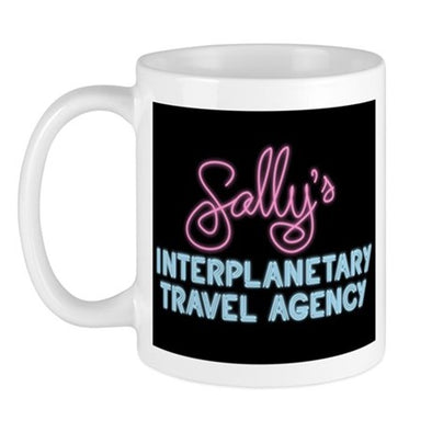 Sally's Travel Agency Mug