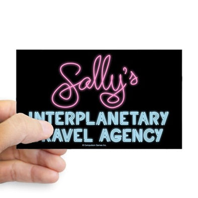 Sally's Travel Agency Sticker
