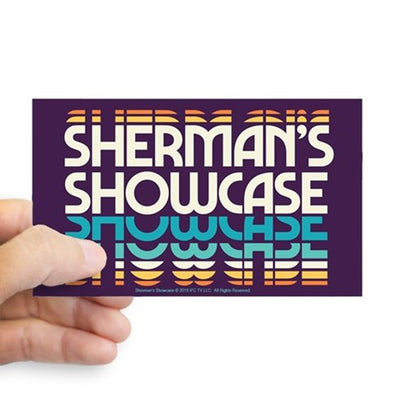 Shermans Showcase Sticker
