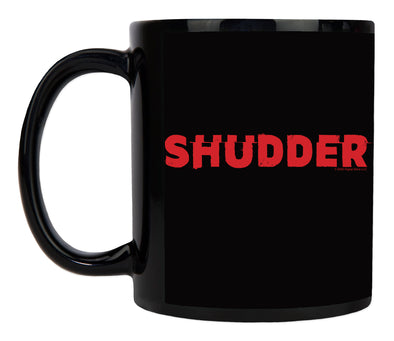 Shudder Logo Black Mug