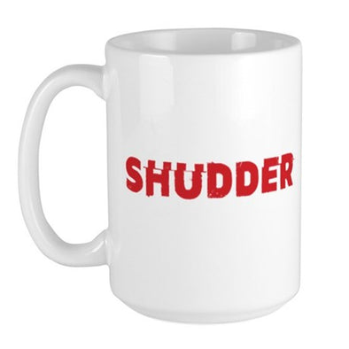 Shudder Logo Large Mug