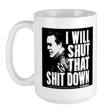 Shut That Shit Down Large Mug