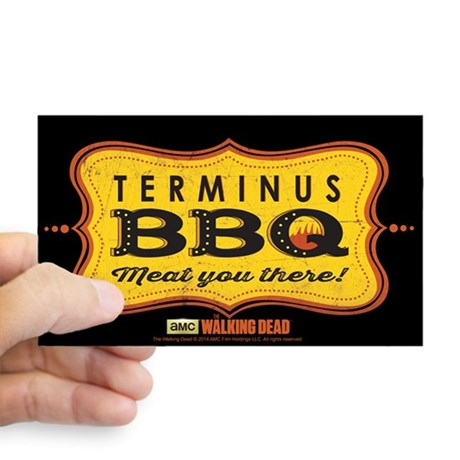 Terminus BBQ Sticker