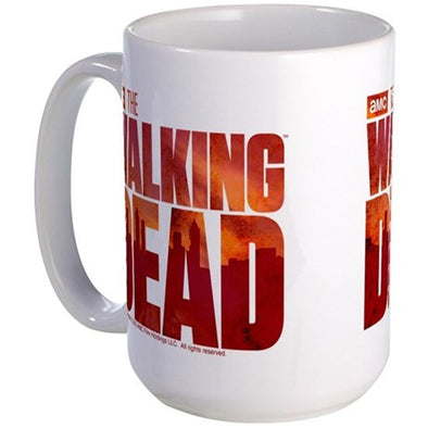 The Walking Dead Blood Logo Large Mug