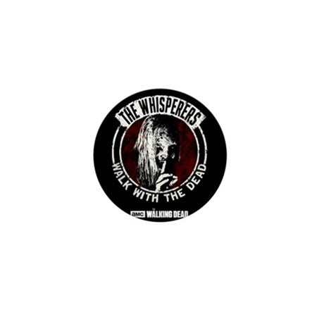 The Whisperers Walk With The Dead Mini Button