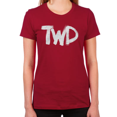 TWD Paint Logo Women's T-Shirt