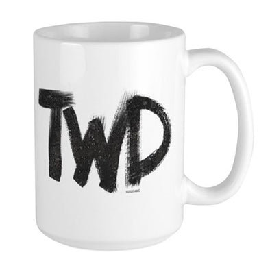 TWD Paint Logo Large Mug