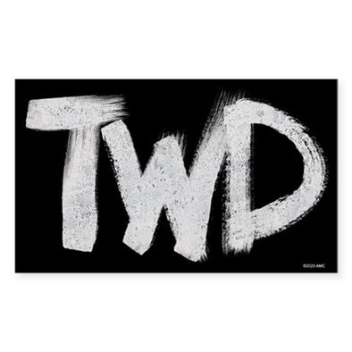 TWD Paint Logo Sticker