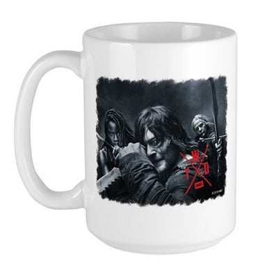 TWD Season X Comic Con Large Mug