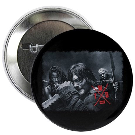 Twd Season X Comic Con Button