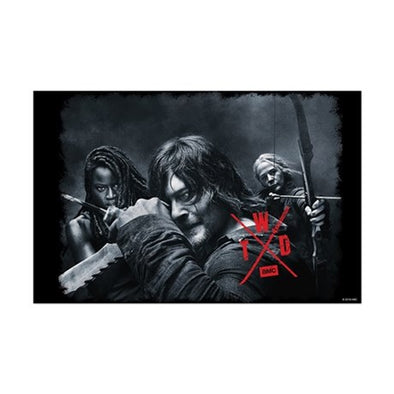 Twd Season X Comic Con Mini Poster Print
