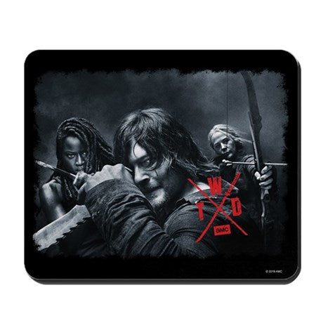 TWD Season X Comic Con Mousepad