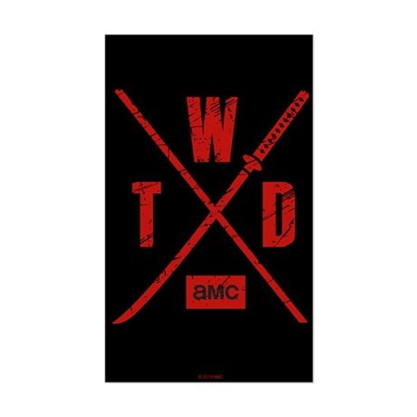 Twd Season X Logo Sticker
