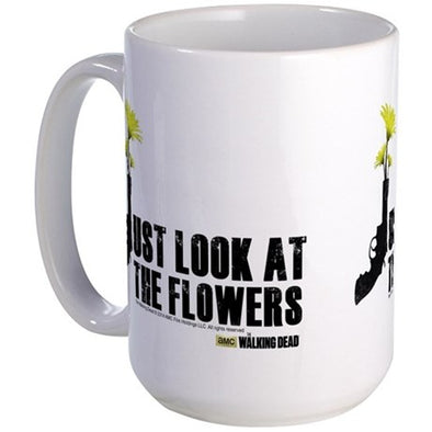 Just Look At The Flowers Large Mug