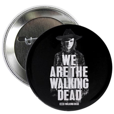 We Are The Walking Dead Button