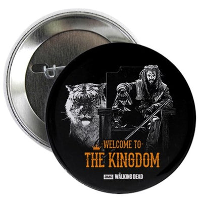 Welcome To The Kingdom Button