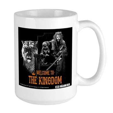 Welcome To The Kingdom Large Mug