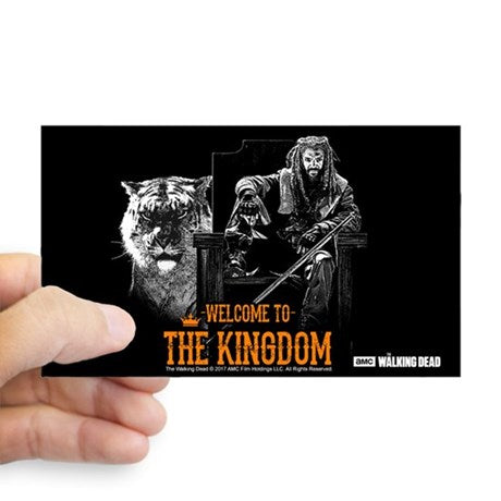Welcome To The Kingdom Sticker
