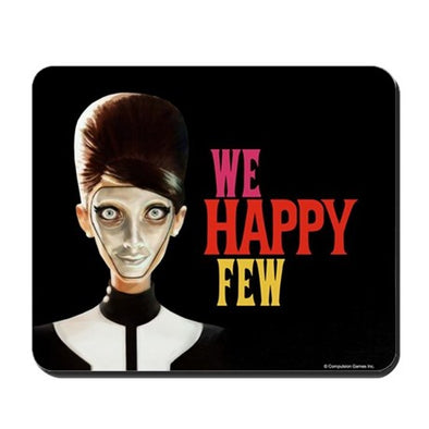 Wellette Black Mousepad