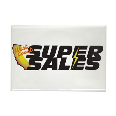 West Coast Super Sales Magnet