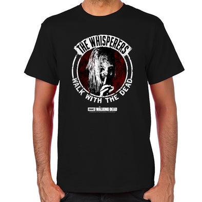 Whisperers Walk With Dead  T-Shirt