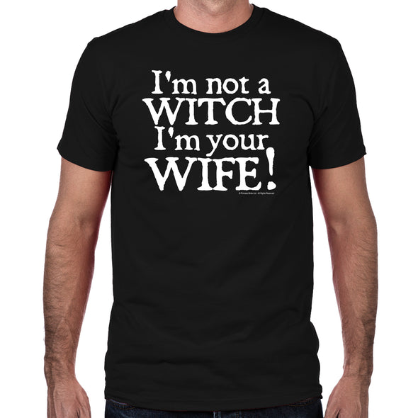 Witch Wife Men's Fitted T-Shirt
