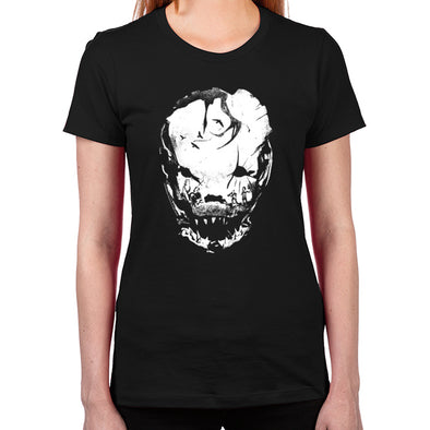 Bloodletting Mask White Women's T-Shirt