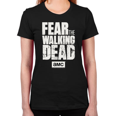 Fear The Walking Dead Women's Fitted T-Shirt
