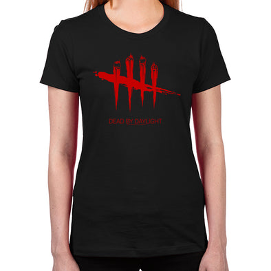 Dead By Daylight Red Women's Fitted T-Shirt