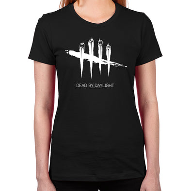 Dead By Daylight White Women's Fitted T-Shirt