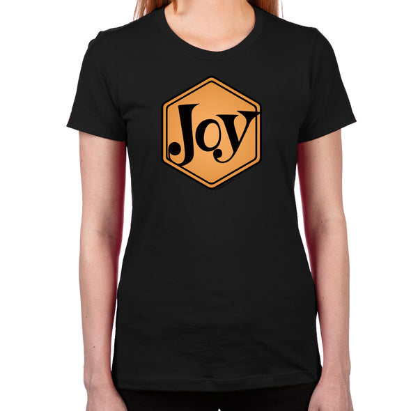 Joy Women's Fitted T-Shirt