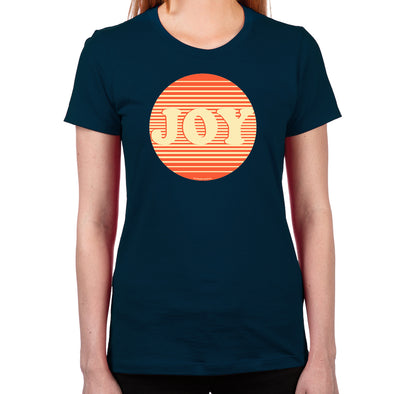 Pop Joy Women's Fitted T-Shirt