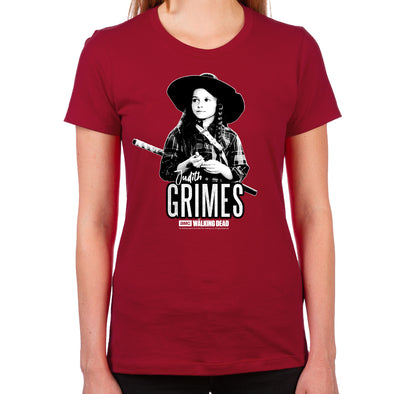Judith Grimes Women's Fitted T-Shirt