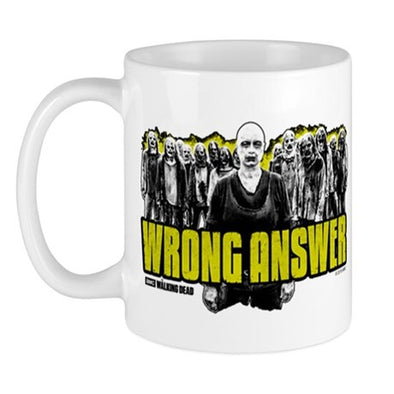 Wrong Answer Mug