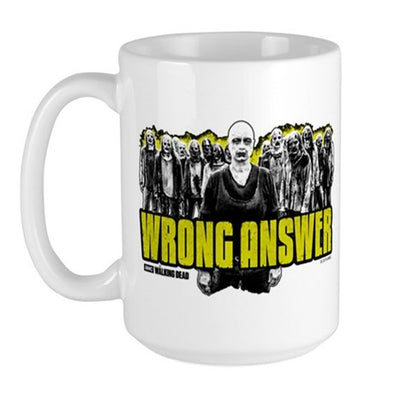 Wrong Answer Large Mug