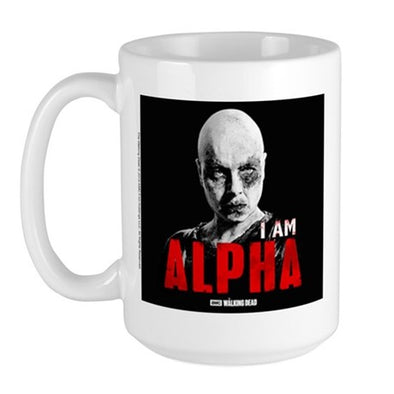 I Am Alpha Large Mug
